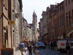 Rue du Taur, Place du Capitole, Toulouse, Sør-Frankrike, Frankrike