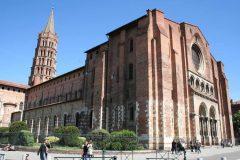 Basilique St Sernin, Toulouse, Sør-Frankrike, Frankrike