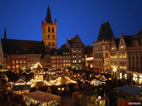 Hauptmarkt, Trier, Vest-Tyskland, Tyskland