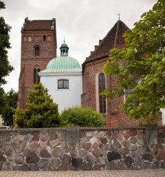 Santa Marias kirke, Warszawa, Unesco Verdensarv, gamlebyen Stare Miasto, Starowka, historisk bydel, middelalder, Wisla, Midt-Polen, Polen