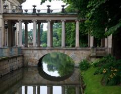 Lazienki-palasset, De Kongelige Badene, Warszawa, Unesco Verdensarv, Wisla, Midt-Polen, Polen