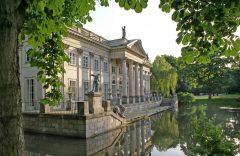 Lazienki-palasset, Warszawa, Unesco Verdensarv, Wisla, Midt-Polen, Polen