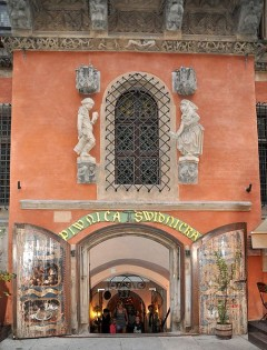 Rådhus, Ratus, Schweidnitzer_Keller, Wroclaw, Unesco Verdensarv, gamlebyen, historisk bydel, middelalder, markedsplass Rynek, Odra, Sør-Polen, Polen