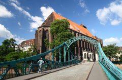 Wroclaw, Unesco Verdensarv, middelalder, markedsplass Rynek, Wyspa Piasek, Odra, Sør-Polen, Polen
