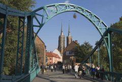 katedralen St Johannes, Wroclaw, Unesco Verdensarv, middelalder, markedsplass Rynek, Odra, Sør-Polen, Polen