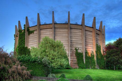 Nær markedsplassen Rynek finner du Raclawice-Panoramaet, Wroclaw, Unesco Verdensarv, middelalder, markedsplass Rynek, Odra, Sør-Polen, Polen