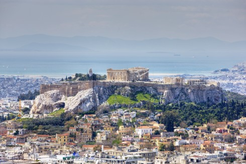 Akropolis, Athen, Hellas