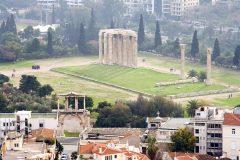 Olympia-Zeus-tempelet i Athen