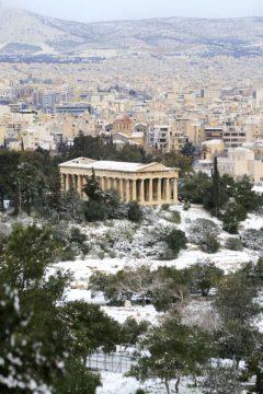 Hafaistos-tempelet, Akropolis, Athen, Hellas