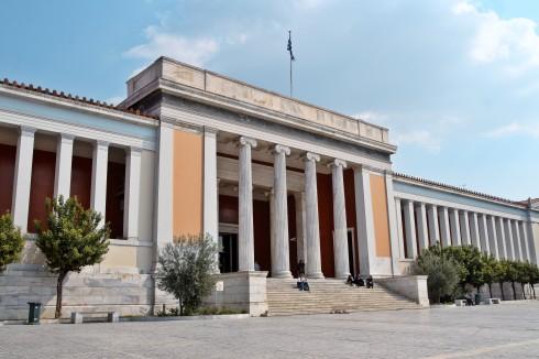 Det nasjonale arkeologiske museet i Athen, Hellas