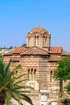 bysantinsk stil i Athen, Hellas