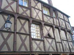 Bourges, bindingsverk, Vieux Ville, Unescos liste over Verdensarven,Loire, Vest-Frankrike, Frankrike