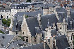 Palais Jacques de Coeur, Bourges, bindingsverk, Vieux Ville, Unescos liste over Verdensarven, Vest-Frankrike, Frankrike