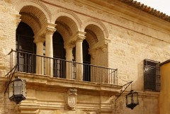 Cordoba, de kongeleige stallene Caballerizas Reales, katedral-moskéen La Mezquita, Alcazae Reyes Cristianos, Guadalquivir, Al-Zahra, Unescos liste over Verdensarven, historisk bydel, gamleby, Andalucia, Spania