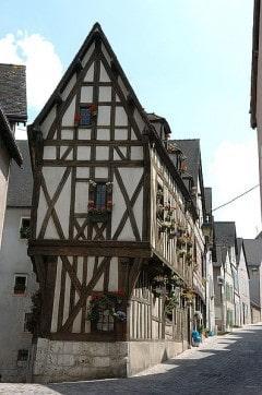 Chartres, Rue des Écuyers , Cathedrale Notre dame de Chartres, Eure, Eure et Loire, Unescos liste over Verdensarven, Vest-Frankrike, Frankrike