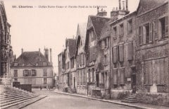 Chartres, Vielle Ville, Cathedrale Notre dame de Chartres, Eure, Eure et Loire, Unescos liste over Verdensarven, Vest-Frankrike, Frankrik