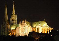 Chartres, Welborn Barton Griffith, Jr, Vielle Ville, Cathedrale Notre Dame de Chartres, Eure, Eure et Loire, Unescos liste over Verdensarven, Vest-Frankrike, Frankrike
