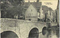 Chartres, Pont Boujou, Cathedrale Notre dame de Chartres, Eure, Eure et Loire, Unescos liste over Verdensarven, Vest-Frankrike, Frankrike