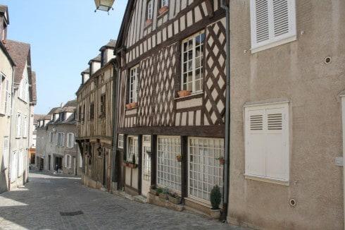 Chartres, Rue des Ecuyers, Cathedrale Notre dame de Chartres, Eure, Eure et Loire, Unescos liste over Verdensarven, Vest-Frankrike, Frankrike