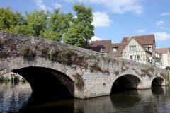 Chartres, Pont de Bouju, Cathedrale Notre dame de Chartres, Eure, Eure et Loire, Unescos liste over Verdensarven, Vest-Frankrike, Frankrike