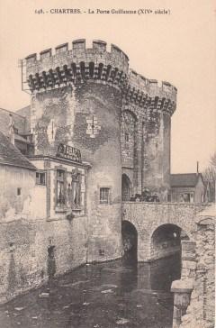 Chartres, Porte Guillaume, Cathedrale Notre dame de Chartres, Eure, Eure et Loire, Unescos liste over Verdensarven, Vest-Frankrike, Frankrike