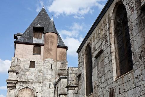 Chartres, St Aignan, Vielle Ville, Cathedrale Notre Dame de Chartres, Eure, Eure et Loire, Unescos liste over Verdensarven, Vest-Frankrike, Frankrike