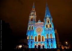 Chartres, Kongeportalen, Vielle Ville, Cathedrale Notre Dame de Chartres, Eure, Eure et Loire, Unescos liste over Verdensarven, Vest-Frankrike, Frankrike