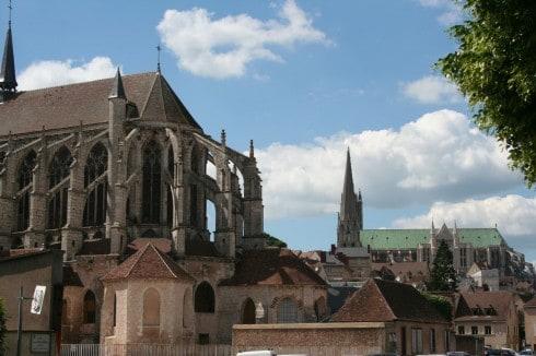 Chartres, Saint-Père, Vielle Ville, Cathedrale Notre Dame de Chartres, Eure, Eure et Loire, Unescos liste over Verdensarven, Vest-Frankrike, Frankrike