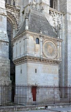 Chartres, Horloge Astrologie, Vielle Ville, Cathedrale Notre dame de Chartres, Eure, Eure et Loire, Unescos liste over Verdensarven, Vest-Frankrike, Frankrike