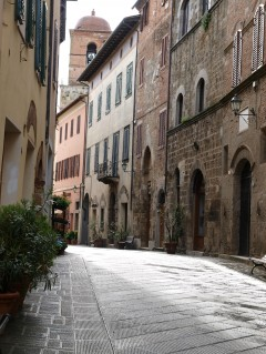 Chiusi, Romertid, etruskere, gamleby, historisk, Toscana, Midt-Italia, Italia
