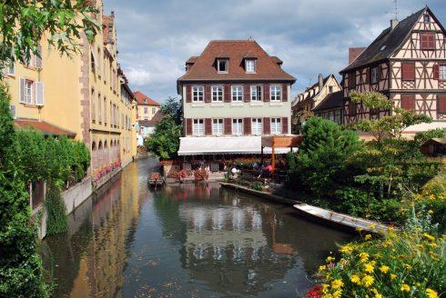Colmar, petit venice, Nord-Frankrike