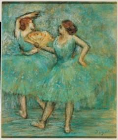 Albertina Museum: Edgar Degas, To danserinner, Batlinersamlingen, Wien, Innere Stadt, Unescos liste over Verdensarven, Ober- Nieder-Österreich og Wien, Østerrike
