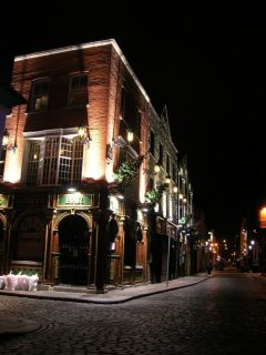 Temple Bar, Dublin, Irland, Storbritannia