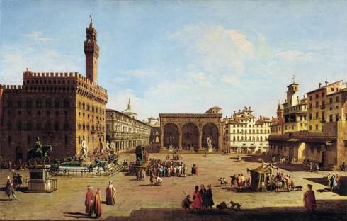 Firenze, Palazzo Vecchio, renessanse, middelalder, Unescos liste over Verdensarven, historisk bydel, gamleby, Toscana, Midt-Italia, Italia