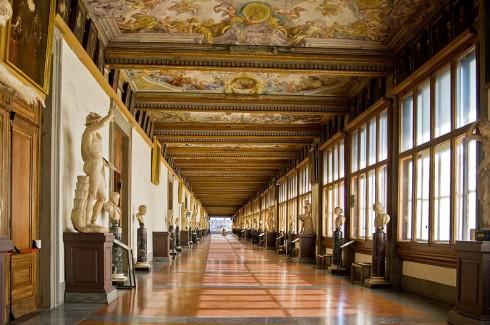 Firenze, Uffizi, renessanse, middelalder, Unescos liste over Verdensarven, historisk bydel, gamleby, Toscana, Midt-Italia, Italia