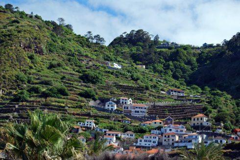 village de Porto Moniz, Madeira, Portugal