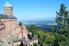 Koenigsbourg, Alsace, Nord-Frankrike, Frankrike