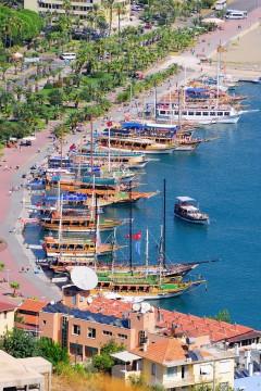 Middelahvskysten Tyrkia Bay of Alanya. Turkey