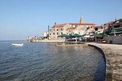 Umag, gamlebyen, middelalder, historisk bysenter, Istria, Kroatia