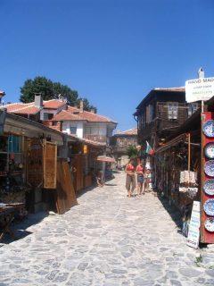 Nessebar, gamleby, oldkirken, Unescos liste over Verdensarven, Burgaskysten, Bulgaria