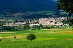 Norcia, pølser, skinker, gamleby, middelalder, romansk, historisk, Umbria, Midt-Italia, Italia