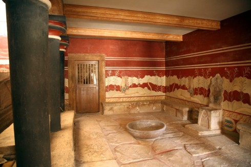 Knossos, Heraklion, Kreta, antikken, minoerne, Hellas