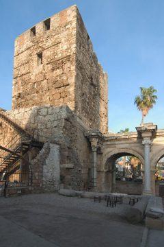 Hadrians port fra antikken, Antalya, Middelhavskysten, Tyrkia