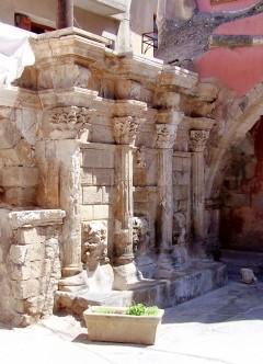 Rethymnon, romertid, gamleby, Kreta, Hellas