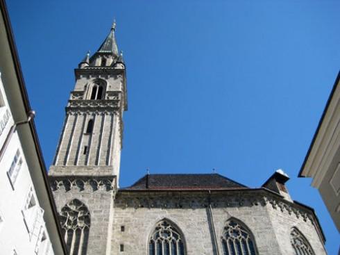 Fransiskanerkirche, Salzburg, Altstadt, Mozart, Unescos liste over Verdensarven, Tyrol og Salzburg, Østerrike