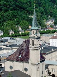 Fransiskaner-kirche, Salzburg, Altstadt, Mozart, Unescos liste over Verdensarven, Tyrol og Salzburg, Østerrike