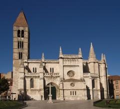 gotisk,Santa Maria la Antigua, Valladolid, historisk bydel, gamleby, Castilla y Leon, Madrid og innlandet, Spania
