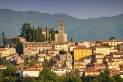 Barga, Garfagnana, Toscana, Midt-Italia, Italia