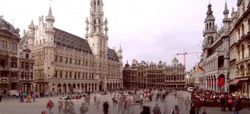 Brüssel, Grand Place, historisk, gourmet, gamleby, renessansen, barokken, Flandern, Belgia