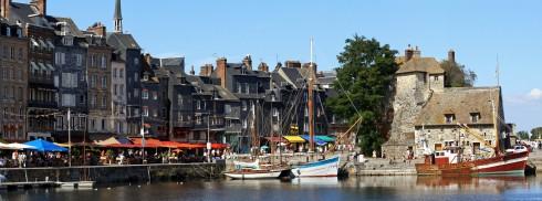 Honfleur, Calvados, Normandie, Vest-Frankrike, Frankrike